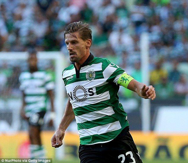 Adrien Silva Sporting Lisbon Sporting Sporting Clube De