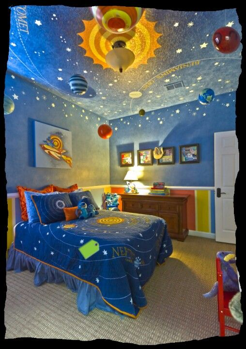 Little boys room for the space-intrigued!!!