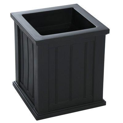 Mayne Inc. Cape Cod Polyethylene Planter Box Size: