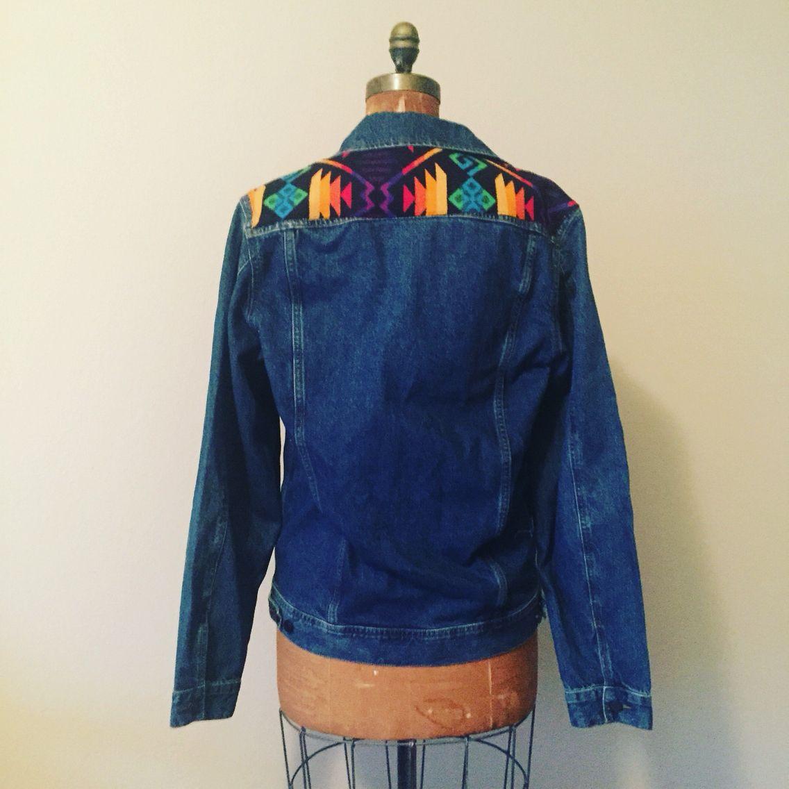 Men S Denim Jacket With Pendleton Wool Flare Instagram Customwoolies Denim Jacket Men Jackets Denim Jacket [ 1136 x 1136 Pixel ]