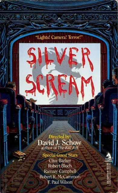 Silver Scream Edited By David J Schow 1988 Hooray For Horrorwood Horror Fiction