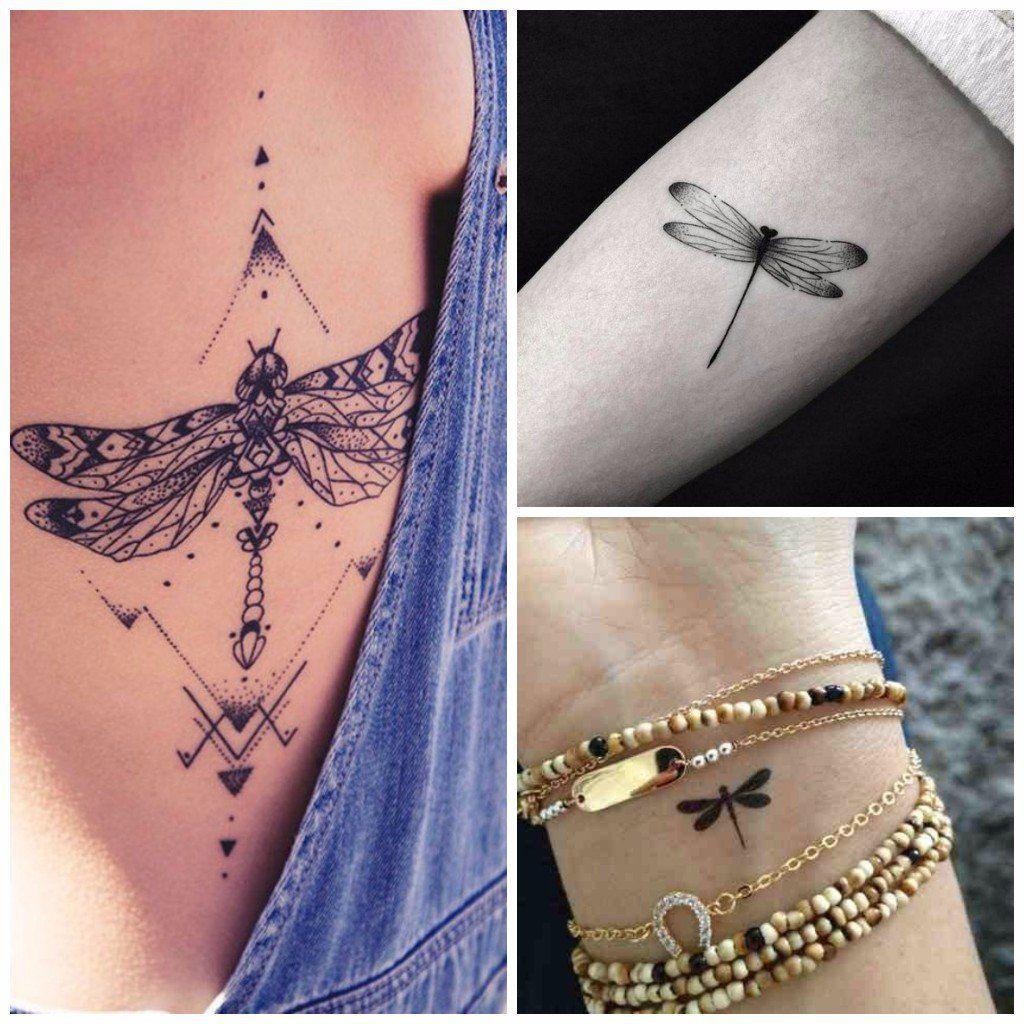 Tatuajes De Libelulas Para Mujer En El Pie