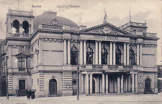 Lessing Theater Wikipedia Berlin Geschichte Architektur