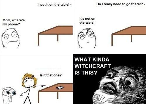 My mom's a witch!