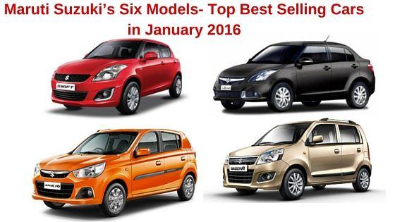 Suzuki models 2016