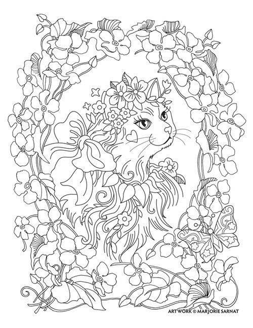 Coloring | Dibujos para imprimir | Pinterest | Colorear, Gatito para ...