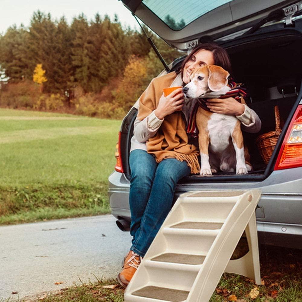 Amazon Gifty 犬 ペット用 ステップ 4段 グレー Gifty ステップ 通販 ペット 踏み台 折りたたみ ステップ