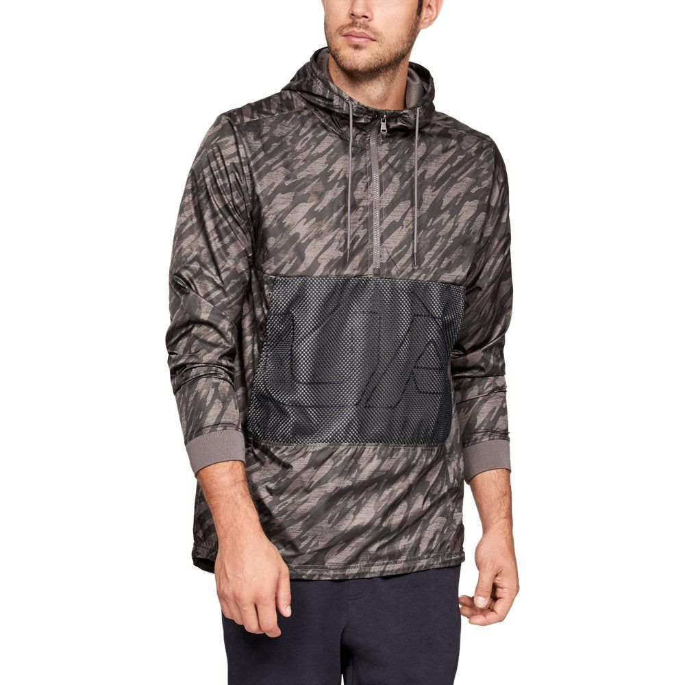 ccff5390a0 Men's UA Sportstyle Longline Anorak Jacket | Products | Anorak ...