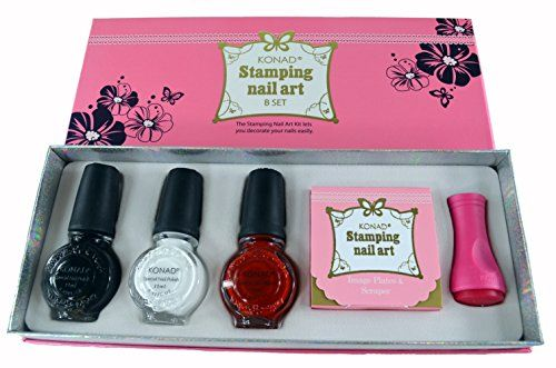 Konad Professional Set B For Stamping Nail Art You Can Find Out