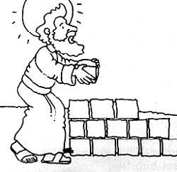 Build upon My Rock... Wise/Foolish man pictures: