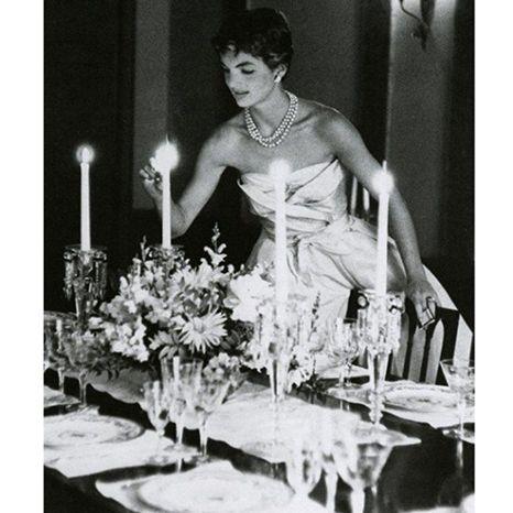 Jackie O Wears Oscar de la Renta In Beautiful Vintage Photo : Lucky Magazine