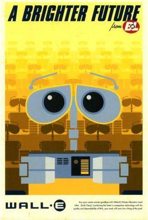 Cute WALL·E poster. #space #curiosity #robots