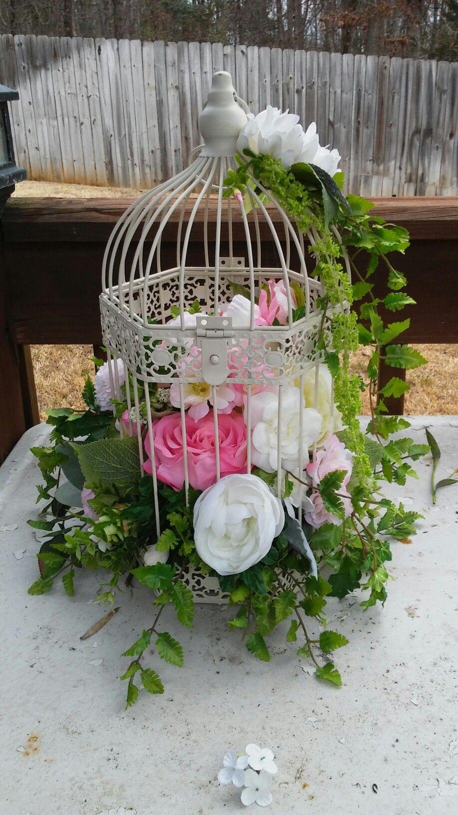 Birdcage Wedding Decor Centerpiece Wedding Decor Pinterest