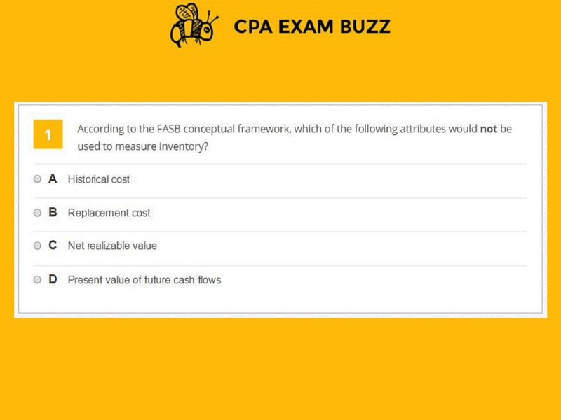 FAR MCQ+Exam Sample Question #1 www cpaexambuzz com #cpaexam