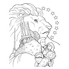 The Lion Witch And The Wardrobe Free Colouring Pages