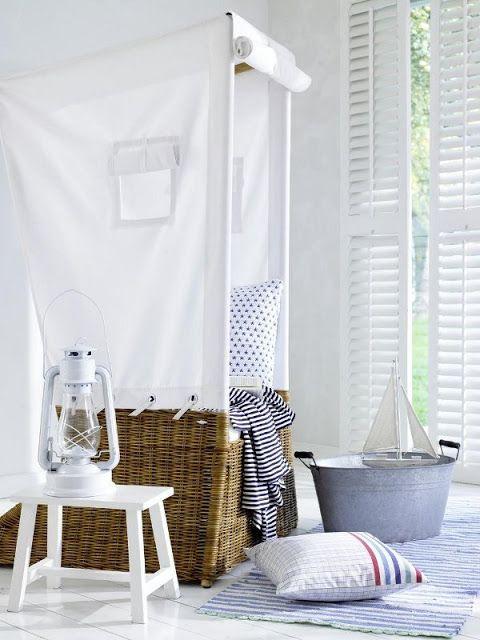 Strandkorb fürs Wohnzimmer - damit Du 365 Tage im Jahr Urlaub hast