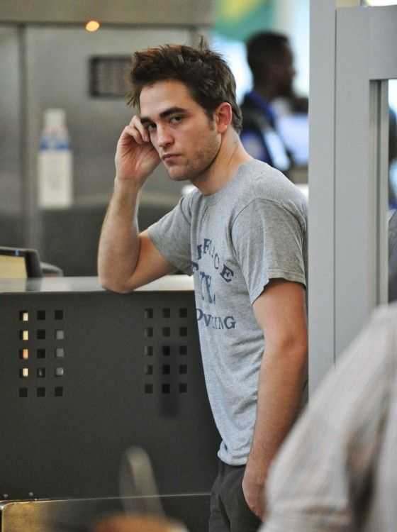 Call me crazy but *death glare* Rob is HOT  :)