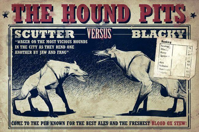 hound pits