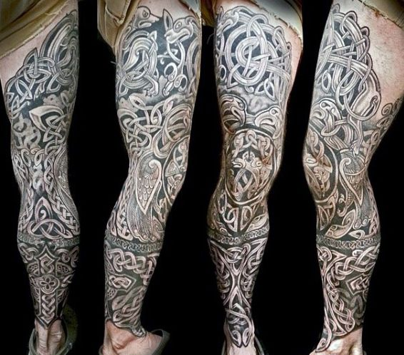 40 Celtic Sleeve Tattoo Designs For Men Manly Ink Ideas Tats
