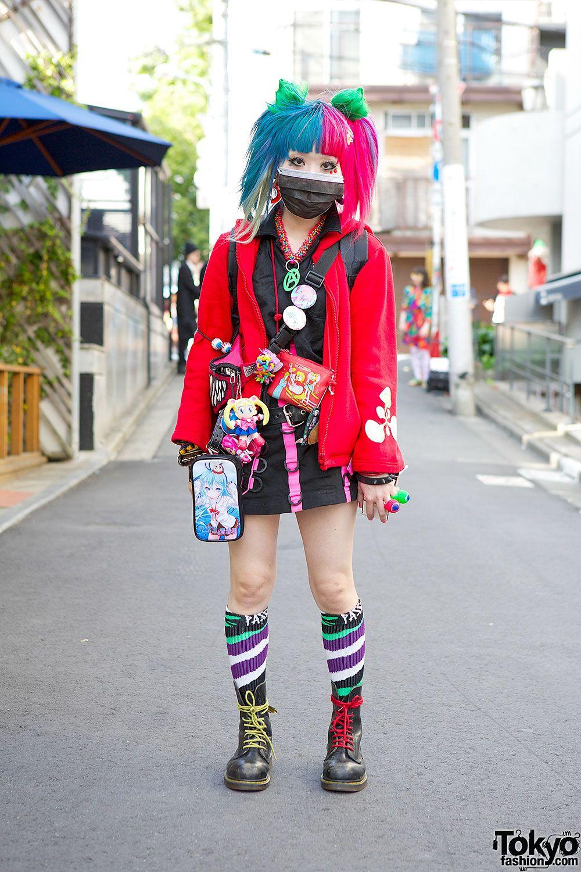 Anime Loving Harajuku Girl Yuri W Items From Space Tribe