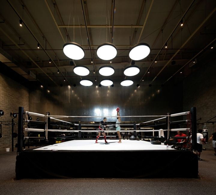 The Burrow Boxing Gym By Lab 100 Sabhan Kuwait Retail Design Blog Boxing Gym Gym Interior Boxing Gym Design