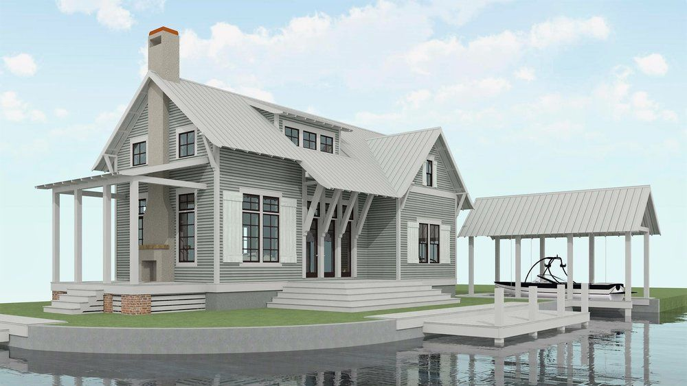 Plans Lake Land Studio Lake House Plans Cottage House Plans Cottage Plan