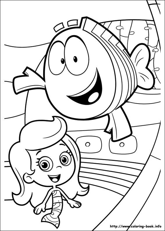 Bubble Guppies coloring picture | Bubble guppies birthday party ...