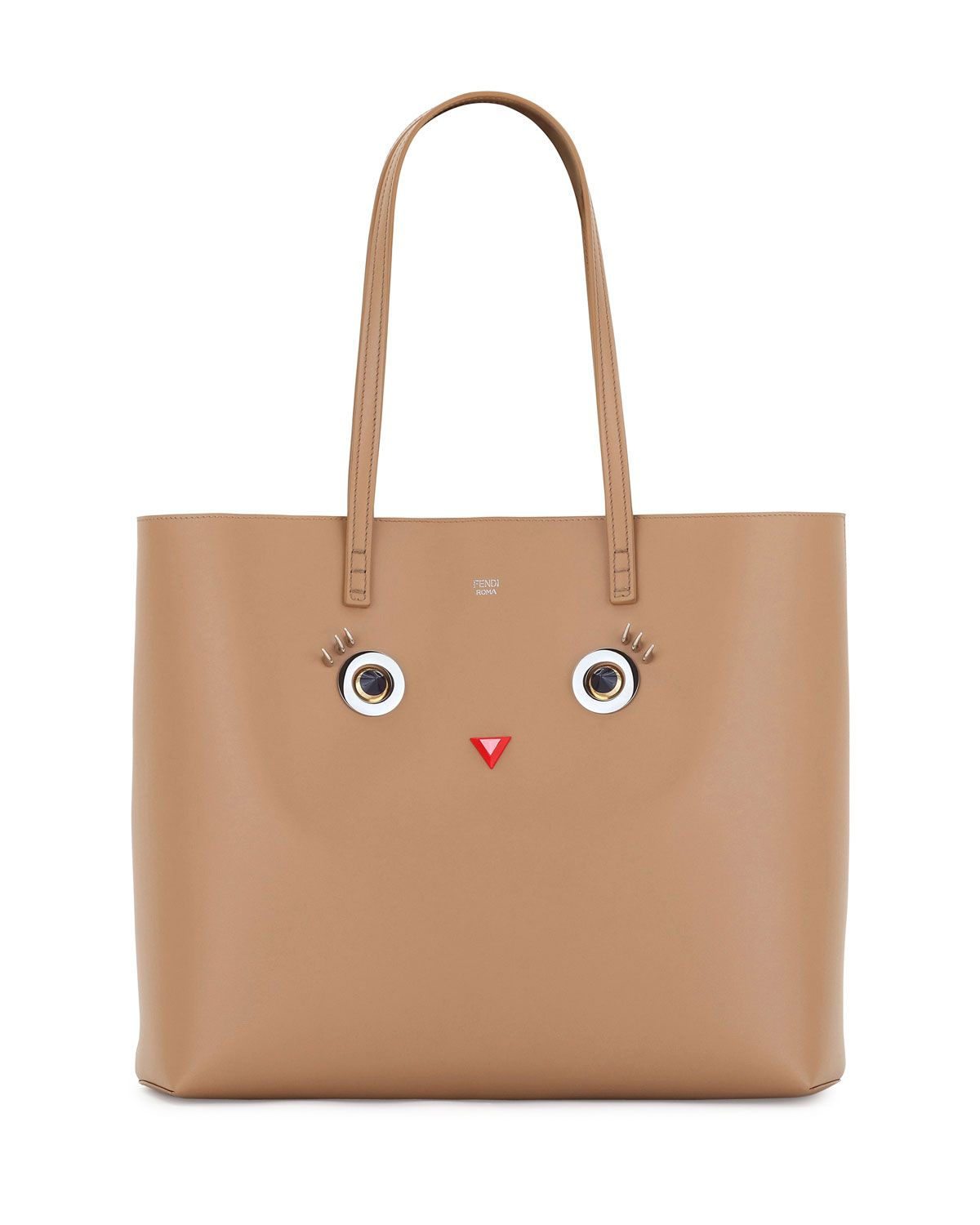 868b44c81b12 Faces Leather Tote Bag