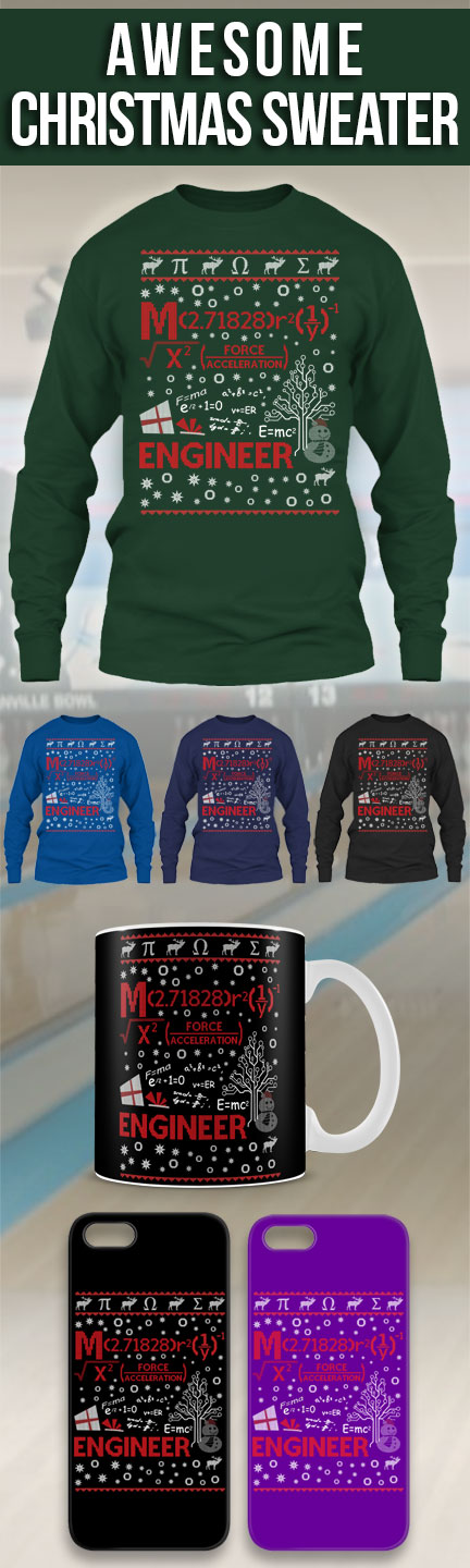 Engineer Ugly Christmas Sweater! Click The Image To Buy It Now or Tag Someone You Want To Buy This For.  #Engineer