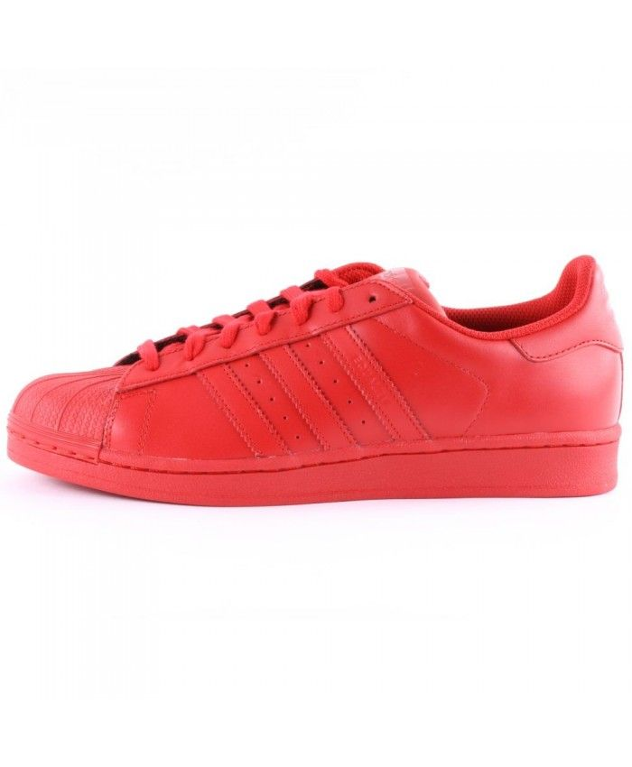 New Arrival Fashion Adidas Superstar Mens Red Cheap Trainers T ...