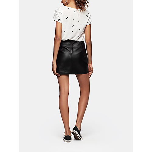 Rokje, Cotton Club Leather look skirt The Sting | Outfits