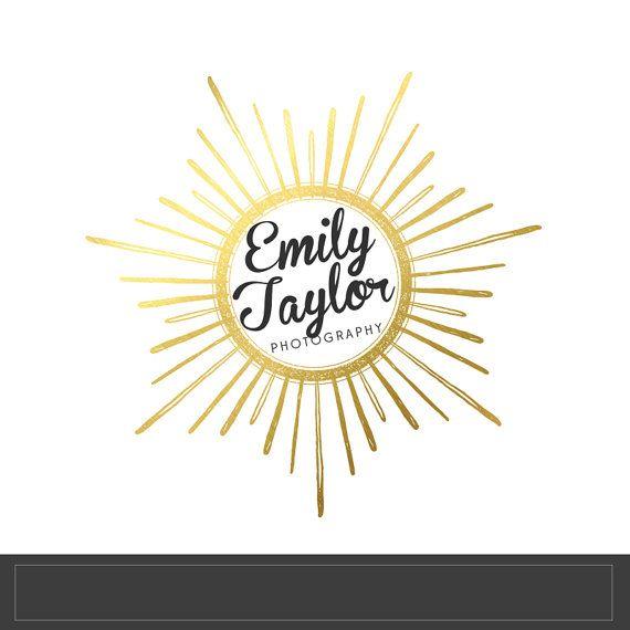 Sunburst Personalized Name Clip