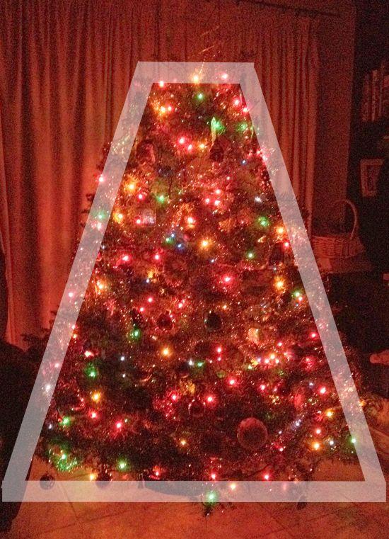 Wordless Wednesday Trapezoid Christmas Tree Holidays Ideas For