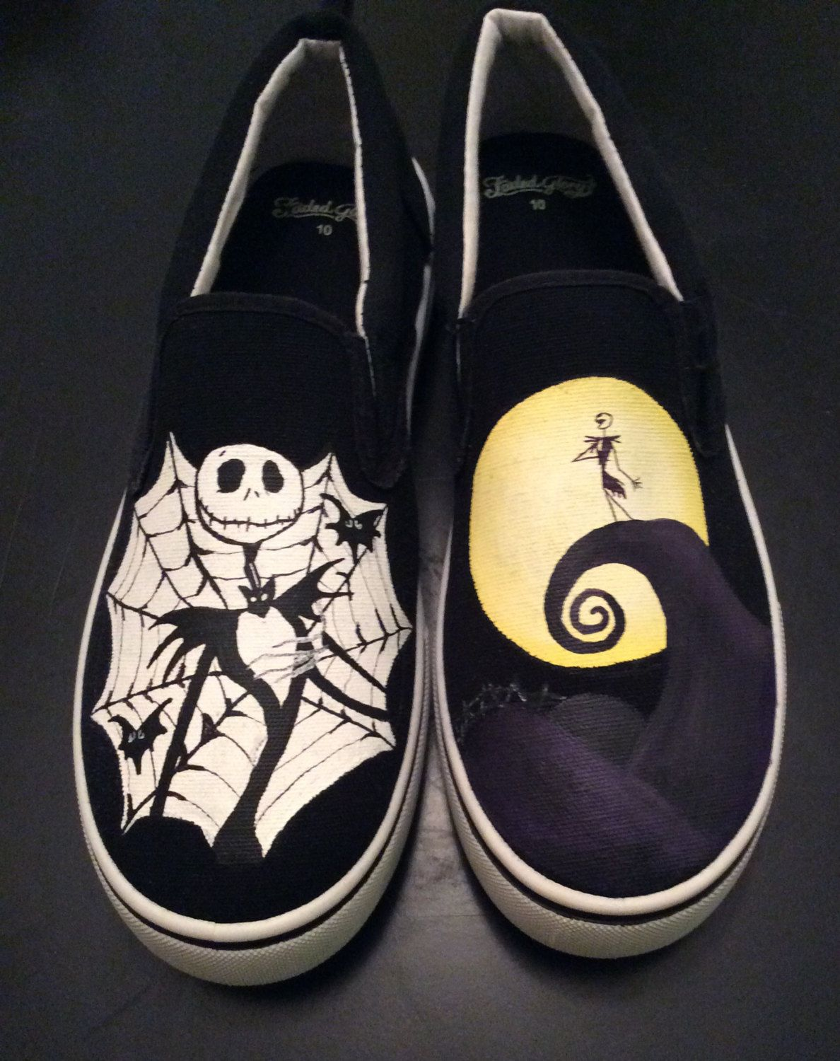 nightmare before christmas jack - Google Search | Painted shoes ...