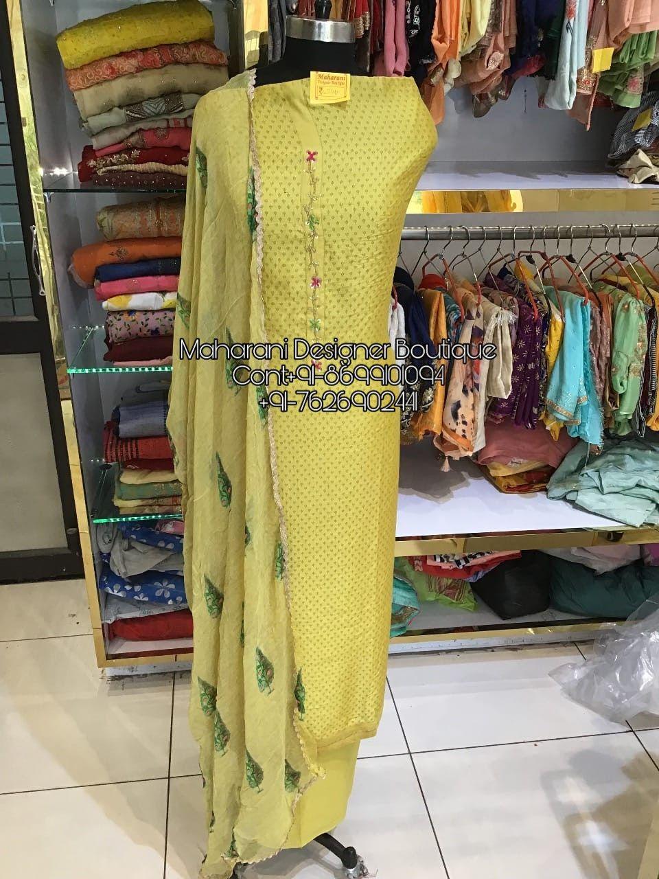 Salwar Suit Boutique Near Me Maharani Designer Boutique