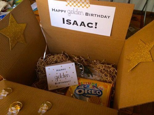 52 Weeks of Mail Week 15 Golden Birthday Box 7