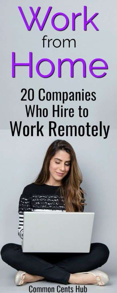 20 Legitimate Work From Home Companies Hiring Now