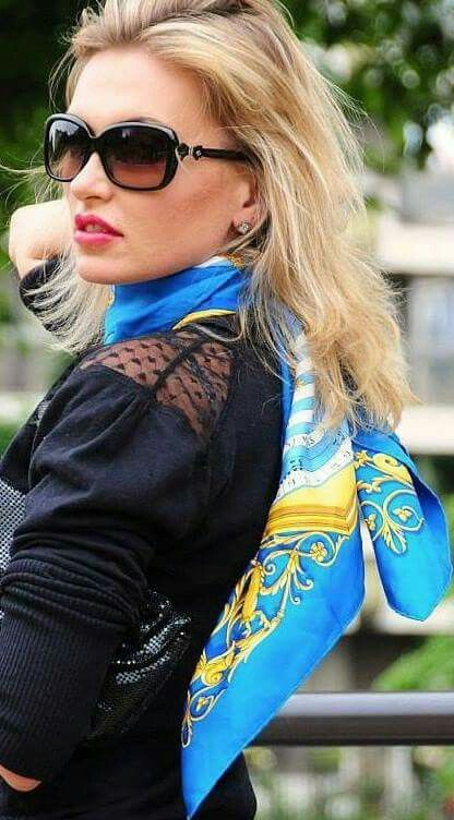 Flight Attendant Scarf Fly High In 2019 T Neck Scarves