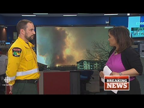 CBC News Edmonton: Fort McMurray wildfire special, May 3, 2016 - YouTube #ymmfire