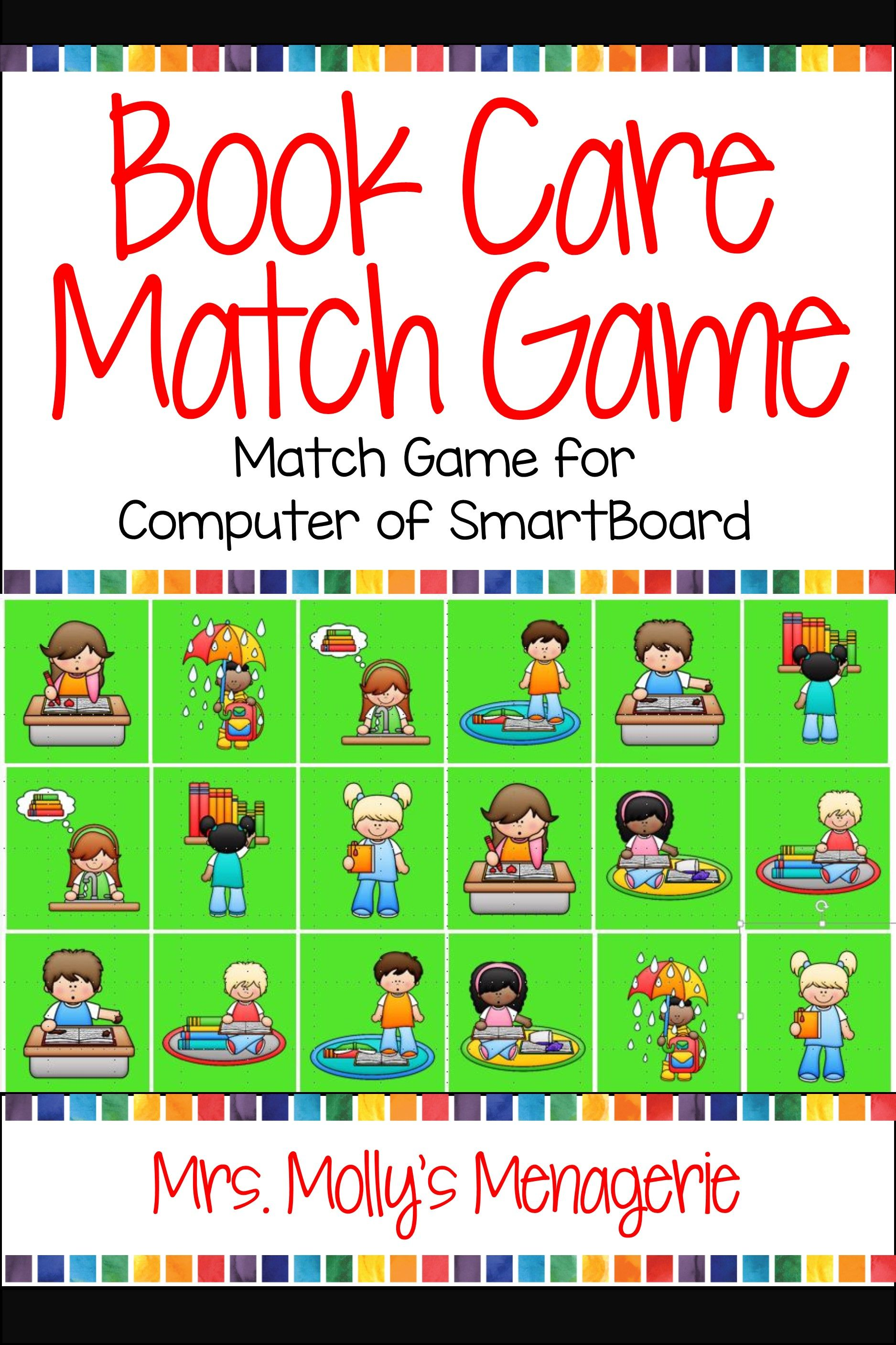 A great way to review book care using Technology. My