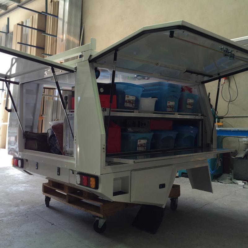Canopy storage Box & Canopy storage Box | Camper Trailers u0026 Ideas | Pinterest | Canopy ...