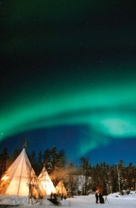 (PHOTO: Northwest Territories Tourism)  Where to see the Northern Lights  Northwest Territories, Canada