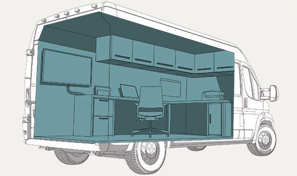 Cargo Van Homeoffice I Want T Cargo Van
