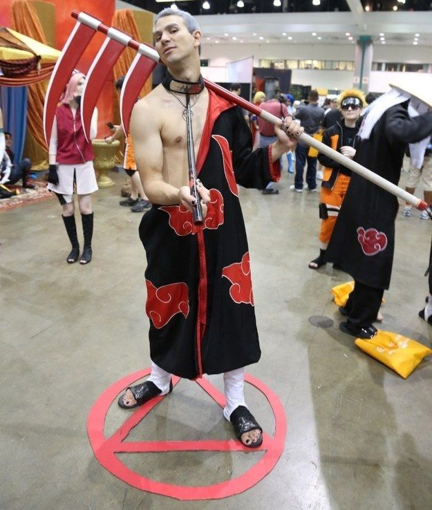 The 21 Most Important Shirtless Men At Anime Expo   Naruto ...