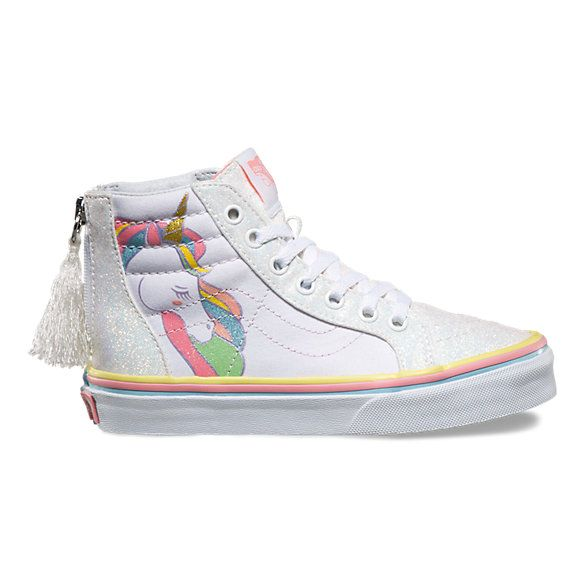 fc95ef9596e68 Kids Unicorn Sk8-Hi Zip | Shop in 2019 | Unicorn Mermaid Fairy ...