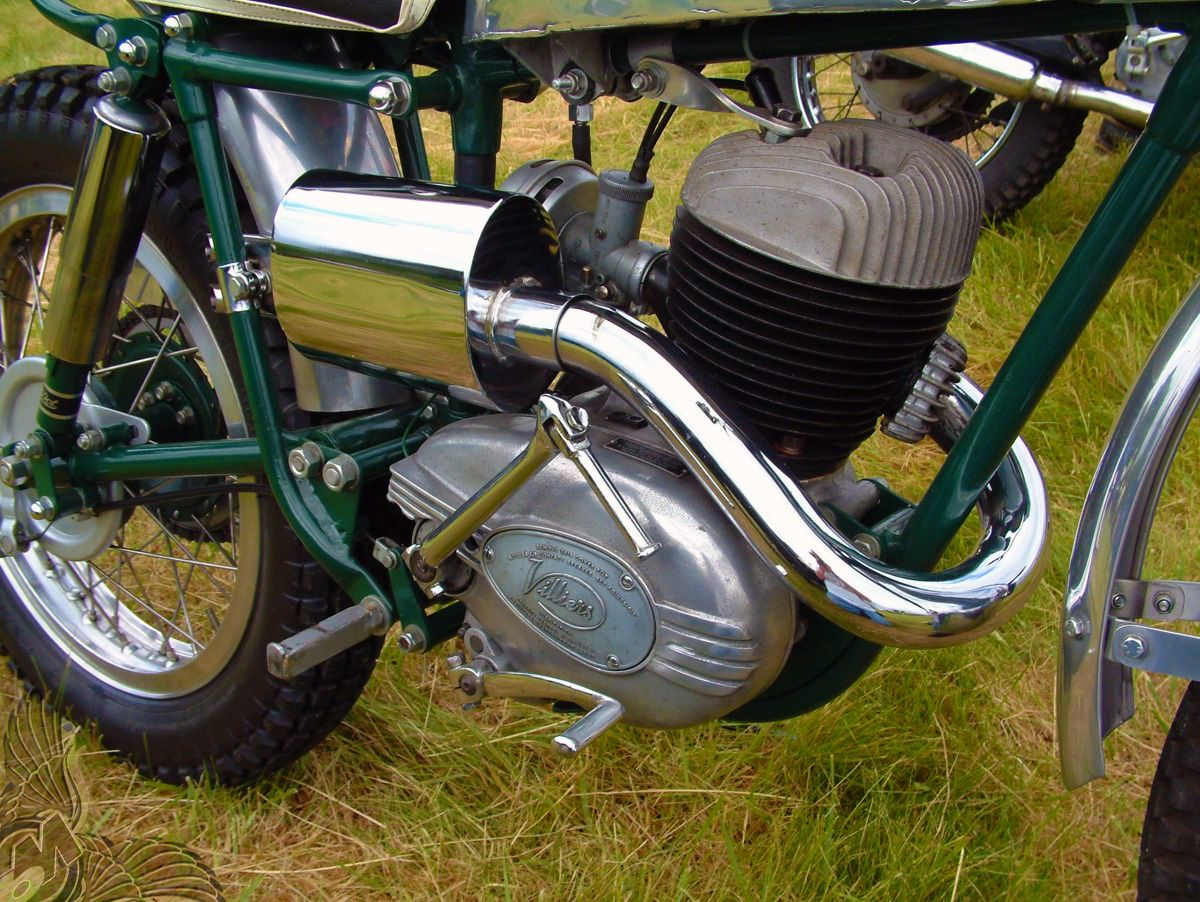 1960 Villiers 197cc Single Cylinder Two-Stroke Air-Cooled