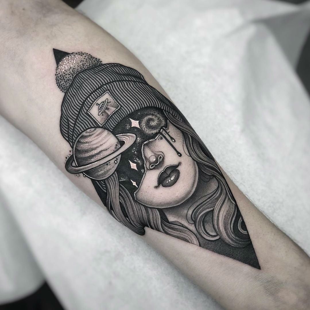 black and grey tattoo artists london