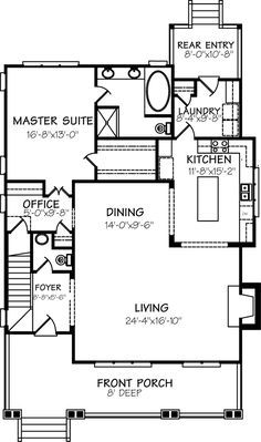 Aberdeen Cottage   Cottage Living | Southern Living House Plans. Have Mud  Room And Entry