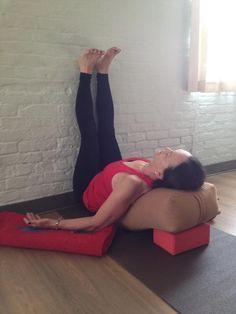 a restorative yoga sequence for muladhara chakra