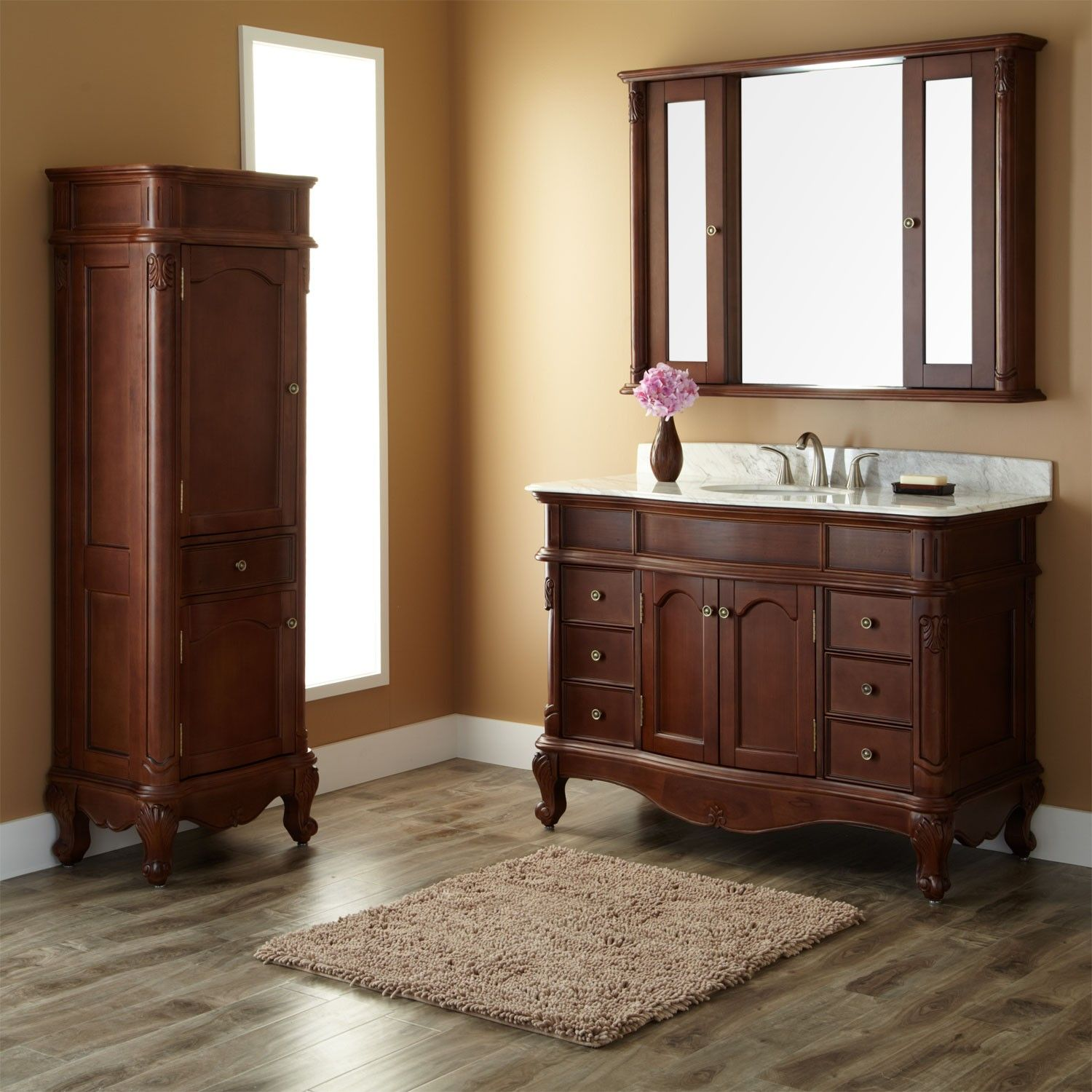 48 Quot Sedwick Brown Cherry Vanity Ideas For The House